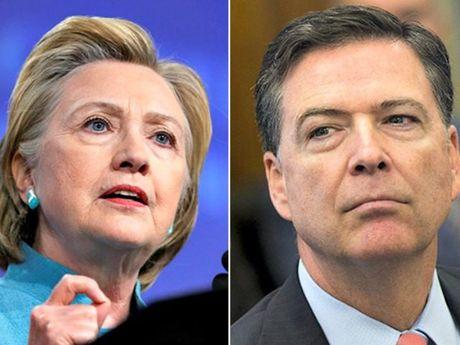 FBI chinh thuc khong truy to ba Clinton - Anh 1