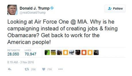 Obama che gieu Trump bi mat quyen dung Twitter ca nhan - Anh 2