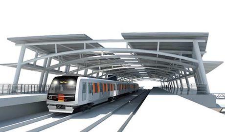 Nghien cuu keo dai tuyen metro Ben Thanh - Suoi Tien - Anh 1