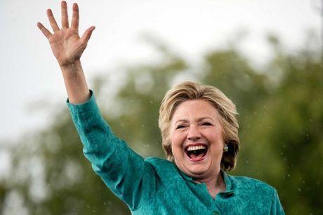 Ba Clinton se thang it nhat 274 phieu dai cu tri? - Anh 1