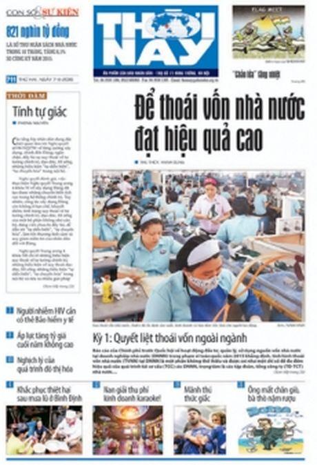 Don doc Thoi Nay so 711, phat hanh thu hai, ngay 7-11 - Anh 1