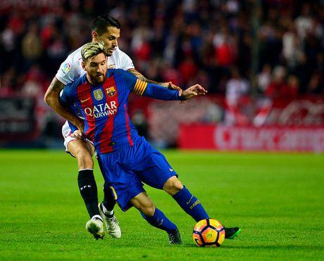 Messi va Suarez giup Barca thang nguoc Sevilla 2-1 - Anh 4