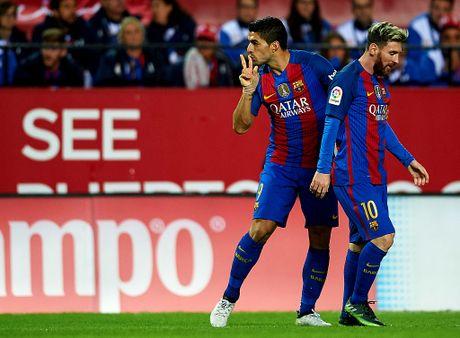 Messi va Suarez giup Barca thang nguoc Sevilla 2-1 - Anh 8