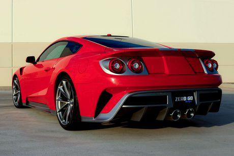 Mau xe lai giua Ford GT va Mustang - Anh 5