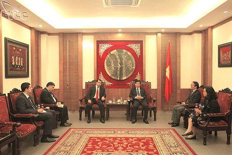 Bo truong Nguyen Ngoc Thien tiep Dai su Azerbaijan tai Viet Nam - Anh 1