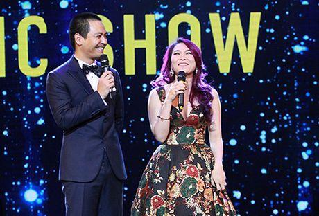 MC Phan Anh, ca si My Tam tung hung an y tren san khau - Anh 1