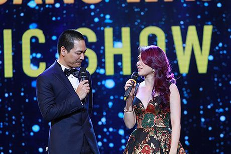 MC Phan Anh, ca si My Tam tung hung an y tren san khau - Anh 2