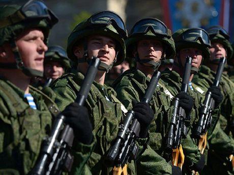 Nga: Hon 5.000 nguoi da dieu hanh Ky niem 75 nam Cuoc duyet binh lich su cua Hong quan Lien Xo - Anh 1