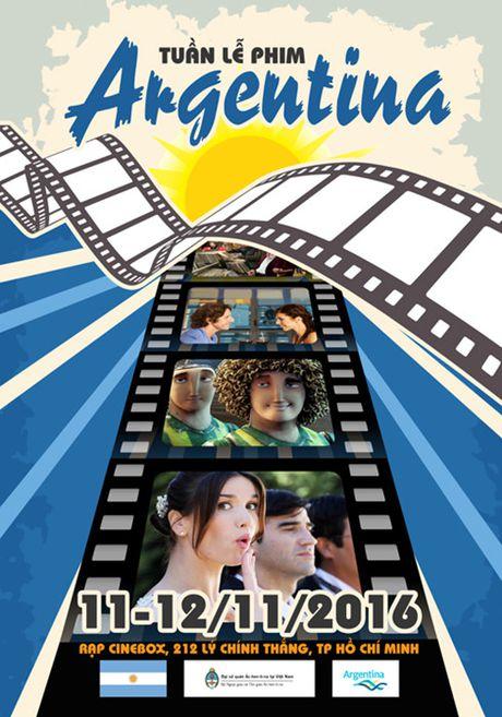 Tuan le phim Argentina tai TP Ho Chi Minh - Anh 1