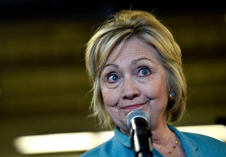 Ba Hillary Clinton nhan duoc su ung ho ap dao tu truyen thong - Anh 8