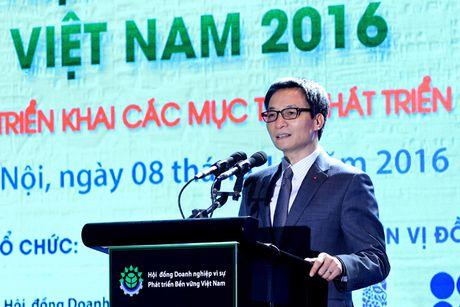 Phat trien DN ben vung: Can hanh dong voi tieu chi cu the - Anh 1