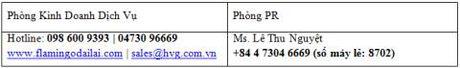 """Flamingo Dai Lai Resort ra mat Goi dich vu """"Booming Emotion Package"""" - Anh 6"""