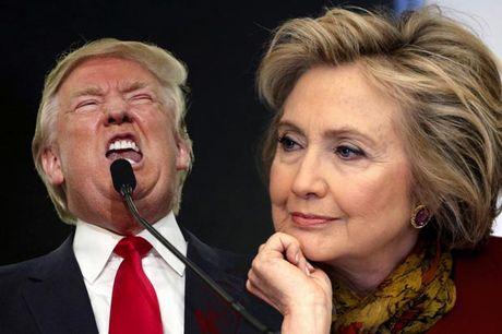 Clinton lac quan, Trump van cay doc truoc 'Ngay phan xet'? - Anh 1