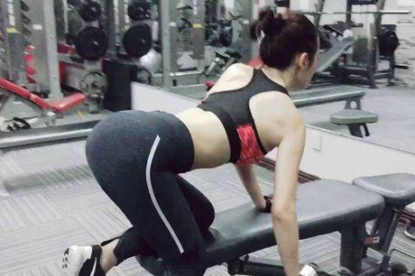 Bong mat vi thay my nhan Viet tap gym nhu di... boi - Anh 5