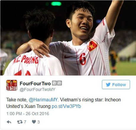 Bao Anh goi Xuan Truong la 'ngoi sao dang len' truoc them AFF Cup - Anh 1