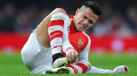 Alexis Sanchez chinh thuc... can pin - Anh 2