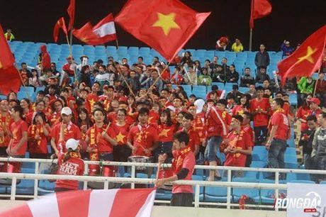 CDV Viet Nam hao hung 'tiep lua' DT Viet Nam tren san My Dinh - Anh 3