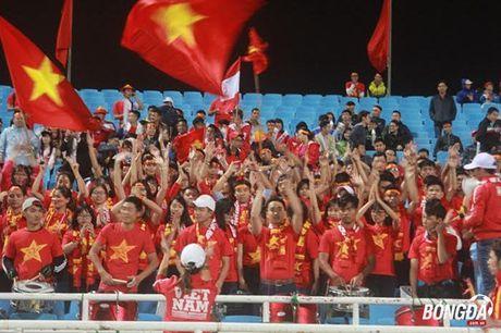 CDV Viet Nam hao hung 'tiep lua' DT Viet Nam tren san My Dinh - Anh 5