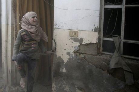 Canh tan hoang vu khong kich o thu do Damascus - Anh 1