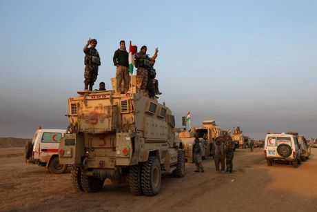 Giao tranh ac liet giua nguoi Kurd va IS tai Mosul - Anh 10