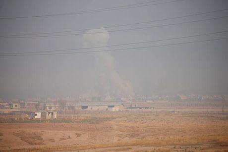 Giao tranh ac liet giua nguoi Kurd va IS tai Mosul - Anh 11
