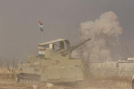 Giao tranh ac liet giua nguoi Kurd va IS tai Mosul - Anh 1
