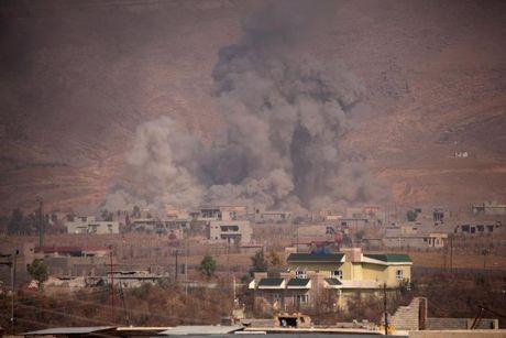 Giao tranh ac liet giua nguoi Kurd va IS tai Mosul - Anh 2