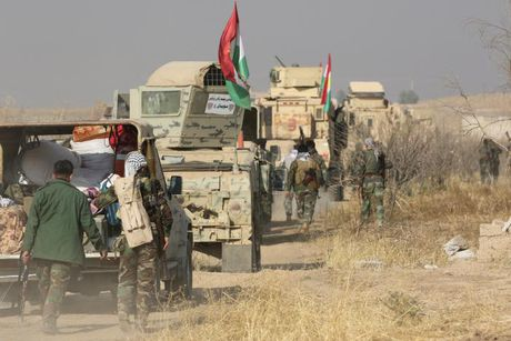 Giao tranh ac liet giua nguoi Kurd va IS tai Mosul - Anh 5
