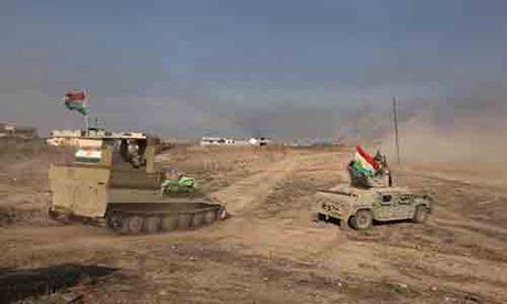 Giao tranh ac liet giua nguoi Kurd va IS tai Mosul - Anh 6