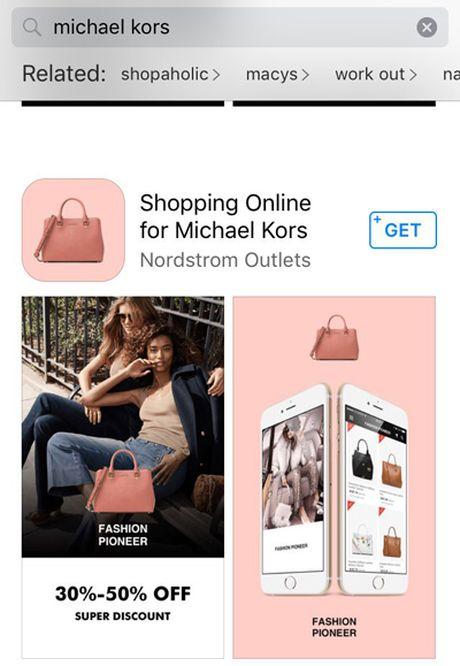 Ung dung gia tang manh tren App Store truoc mua mua sam - Anh 1