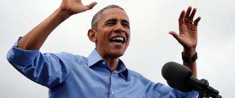 Barack Obama: Chi can thang o Florida, ba Clinton se co the tro thanh Tong thong - Anh 1