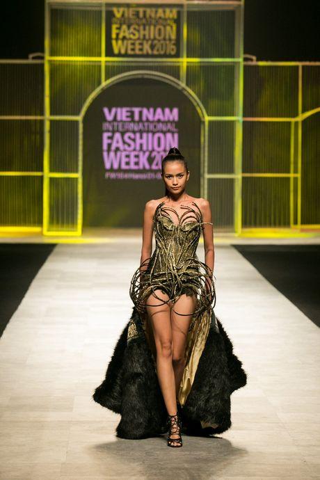 Quan quan VNTM 2016 Ngoc Chau dat show tren san dien thoi trang tam co quoc te - Anh 2