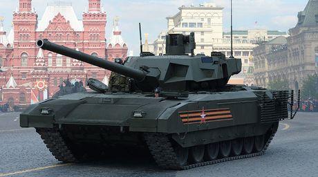 Tinh bao Anh 'choang ngop' truoc xe tang Armata 'cach mang' cua Nga - Anh 1