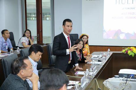 Doanh nhan Thao Tay truyen cam hung tai le phat dong Hult Prize - Anh 3