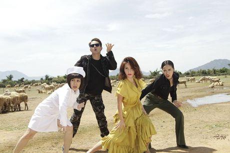 Hua Vi Van, Diem My 9X tro tai hat nhac phim 'Chay di roi tinh' - Anh 2