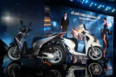Honda Viet Nam gioi thieu mau xe toan cau SH 125i/150i - Anh 5
