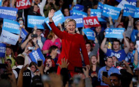 Bau cu My: Ong Trump bat ngo dan truoc ba Clinton - Anh 11