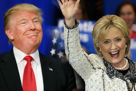 Bau cu My: Ong Trump bat ngo dan truoc ba Clinton - Anh 12