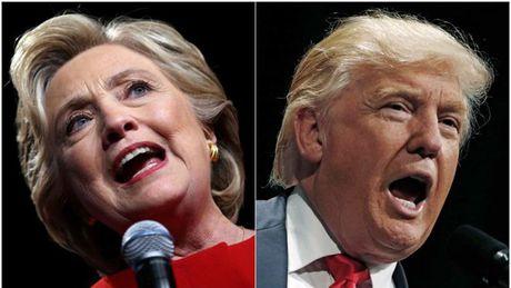 Bau cu My: Ong Trump bat ngo dan truoc ba Clinton - Anh 15