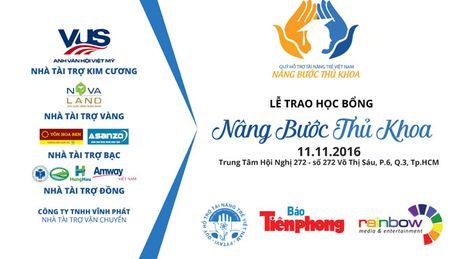 Hoat dong cua chuong trinh hoc bong 'Nang buoc thu khoa 2016' - Anh 1