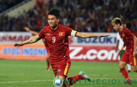 Viet Nam - Indonesia 3-2: Cong Vinh, Cong Phuong, Van Toan ghi ban - Anh 3