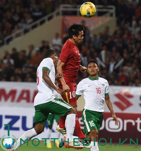 Viet Nam - Indonesia 3-2: Cong Vinh, Cong Phuong, Van Toan ghi ban - Anh 5
