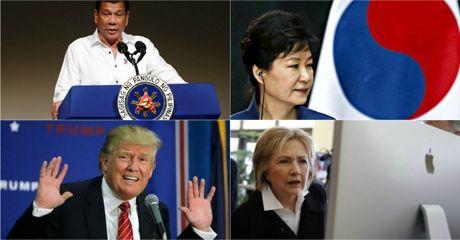 The gioi 24h: Ba Clinton ap dao ong Trump, Samsung bi bo rap vi Tong thong Han Quoc - Anh 1