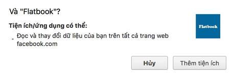 Cach thay giao dien phang cuc dep cho Facebook - Anh 3