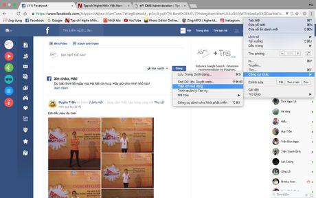Cach thay giao dien phang cuc dep cho Facebook - Anh 5
