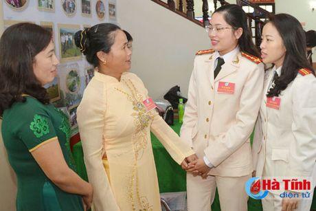 Dong gop tri tue, xay dung to chuc Hoi Phu nu Ha Tinh vung manh - Anh 1