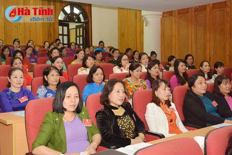 Dong gop tri tue, xay dung to chuc Hoi Phu nu Ha Tinh vung manh - Anh 4