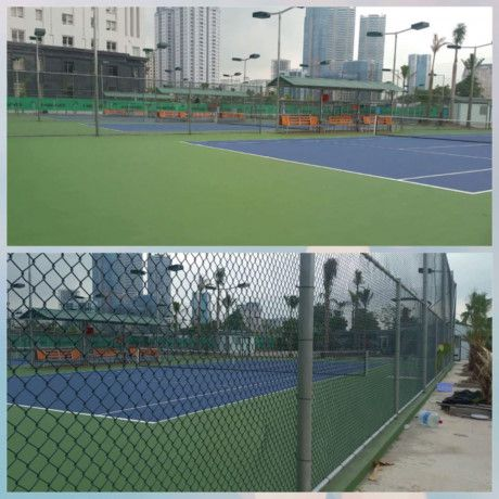 Can canh to hop san tennis 'khung' 'moc len giua ban ngay' o Thu do - Anh 2