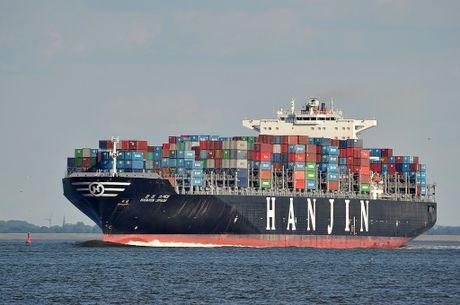 Hang tau Han Quoc pha san de lai hon 4.000 container tai cang Viet Nam - Anh 1