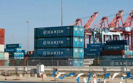 Hon 4.000 container cua hang tau Hanjin van con tai cac cang Viet Nam - Anh 1
